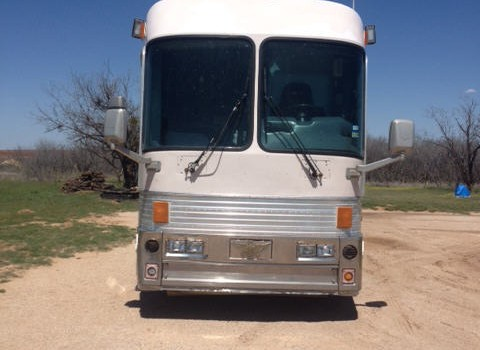 this coach was built in Brownsville, Texas and is currently located in Big Springs, Texas. I can arrange an appointment to inspect this coach for interested parties.