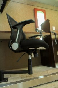 Work station swivel chairs