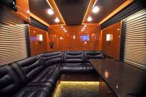 One of the most popular places on the coach is the rear lounge
