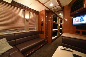 This coach is available now and ready for the 2018 touring season. If interested contact: Russ Jeffers Hemphill coach sales PH: 615-477-5232 Email: russ@hemphillbrothers.com