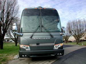 2004 Prevost double slide with an upgraded front