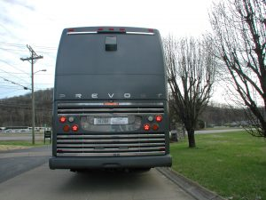 2004 Prevost double slide. the body, lights, glass, lenses, tires, and windows are all in good shape