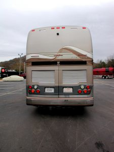 2005 Prevost exterior rear view